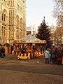 Christmas market at the Natural History Museum - geograph.org.uk - 637147.jpg