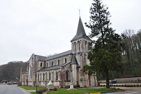 Church of Saint-Laurent-de-Brèvedent (France).JPG