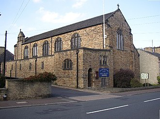 Rastrick - St John the Divine, built 1913