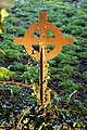 Church of St Mary, Stapleford Tawney, Essex, England - iron grave marker reverse.jpg
