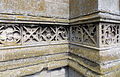 Church of the Holy Cross Great Ponton Lincolnshire England - tower socle frieze.jpg