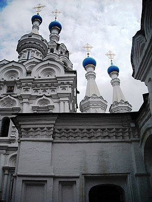 Church of the Nativity of the Blessed Virgin in Putinki, 2010 04.jpg, автор: Elisa.rolle