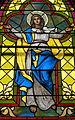 Church of the Sacred Heart (Coshocton, Ohio) - stained glass, Immaculata.JPG