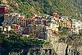 Cinque Terre, Manarola, vista dalla terrazza alla fine di via Serra, a Corniglia - panoramio - Carlo Pelagalli.jpg