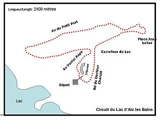 Aix-les-Bains Circuit du Lac