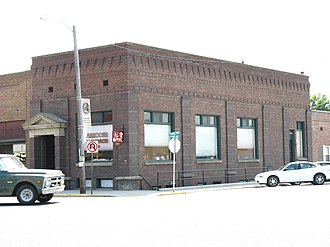 National Register of Historic Places listings in Gooding County, Idaho - Image: Citizens State Bank