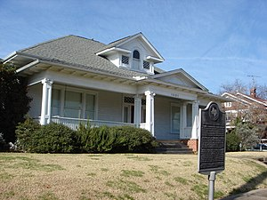 Claire Lee Chennault - Chennault's birthplace and his home located in Commerce, Texas.