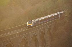 Class 43 on Forder viaduct (9378).jpg