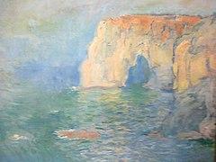 Claude Monet Étretat, la Manneporte, reflets sur l'eau 15092012413.jpg