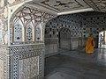 Cleaning inside the Shish Mahal.jpg