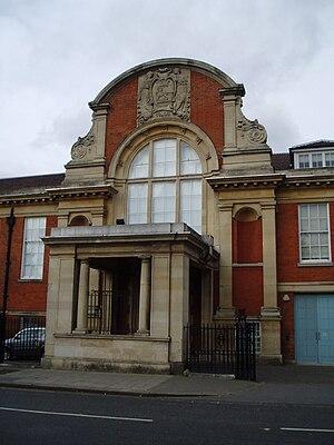 Clément-Talbot - Clément-Talbot Works main entrance