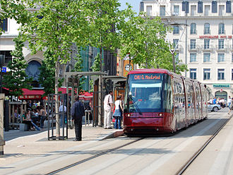 Clermont-Ferrand - Tramway in Clermont-Ferrand