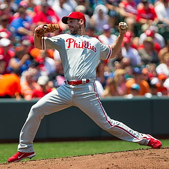 Cliff Lee - Lee with the Phillies in 2012