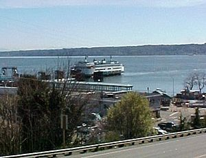 Clinton, Washington - Ferry at Clinton