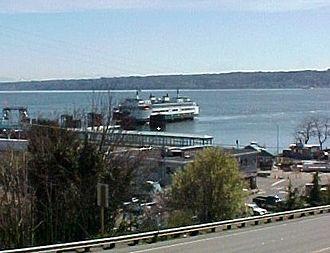 Clinton, Washington - Ferry at Clinton