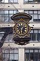 Clock outside St Magnus-the-Martyr Church.jpg