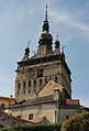 Clocktower, Sighișoara Citadel (8136374442).jpg