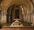 Close-up choir crypt basilica Saint-Eutropius Saintes Charente-Maritime.jpg