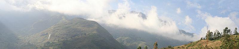 Clouds and Mountain Range from Uluguru.jpg