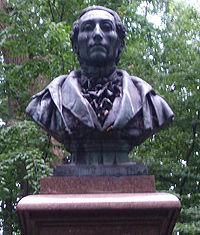 The bust of Weber in Eutin