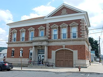 Coaldale, Schuylkill County, Pennsylvania - Coaldale Town Hall.