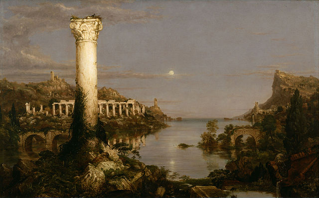 Thomas Cole: The Course of Empire: Desolation, 1836