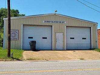 Coleman, Georgia - Image: Coleman, GA Volunteer Fire Department