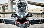 Colombian Air Force Capt. Juan Monsalve prepares for take-off during Exercise Green Flag East at Barksdale Air Force Base (29470349286).jpg