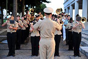 Navy Music Program - Image: Colors MB 2012