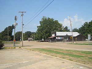 Colt, Arkansas - Old Military Road, Colt