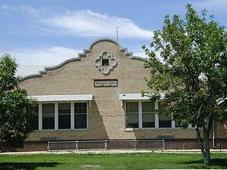 Las Animas, Colorado - Columbian Elementary School (1916), photographed 2005