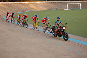Keirin - Keirin in Colwood, British Columbia, July 2006.