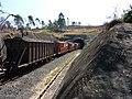 Comboio que saía de túnel sentido Guaianã na Variante Boa Vista-Guaianã km 187 em Itu - panoramio.jpg