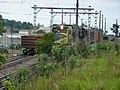 Comboios em cruzamento no pátio da Estação Ferroviária de Itu - Variante Boa Vista-Guaianã km 202 - panoramio (4).jpg