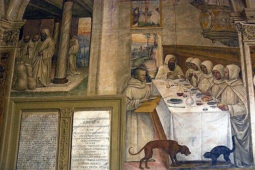 Il Sodoma, Come Benedetto ottiene farina in abbondanza e ne ristora i monaci