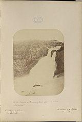Cascata da Princesa (Paulo Affonso) vista rio abaxio