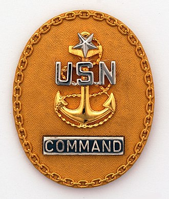 Senior chief petty officer - Image: Command Senior Chief Pin