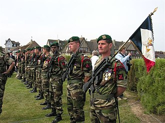 Commandos Marine - Tribute to Commando Kieffer, 6 June 2009