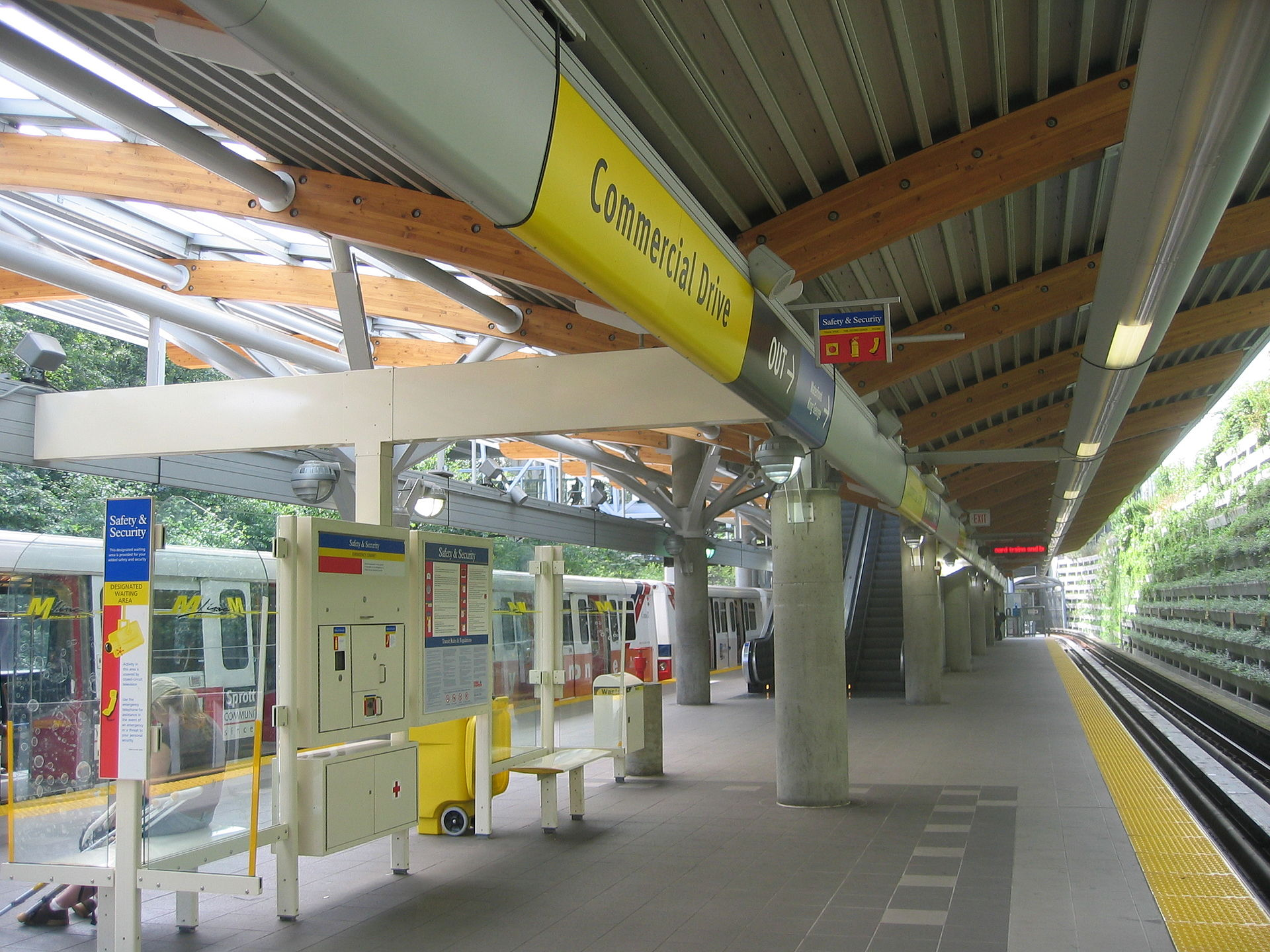 List Of Vancouver Skytrain Stations Wikipedia
