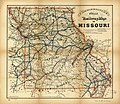 Commissioners official railway map of Missouri. Completed to January 1st 1888. Copyright 1887 by R. T. Higgins. LOC 98688505.jpg