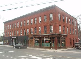 Congers, New York - Historic building in central Congers