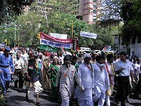 A Congress rally in New Delhi.
