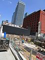 Construction around the old Westinghouse building, at Soho and King, 2017 05 18 -ab (34748939985).jpg