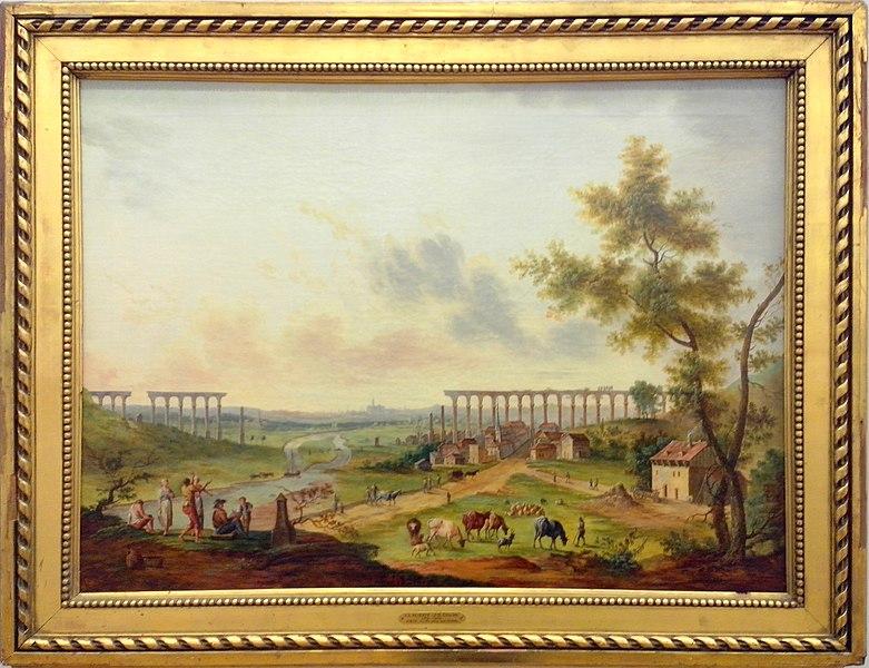File:Construction des arches à Jouy-aux-Arches.jpg