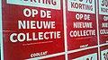 Coolcat bankruptcy sign posters, Groningen (2019) 06.jpg