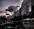 Copacabana after dusk (2478987722).jpg