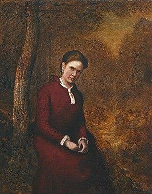 Ralph Albert Blakelock - Cora Bailey  (ca. 1876)
