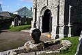 Cornish Cross near the door of Breage Church. - geograph.org.uk - 974538.jpg