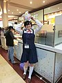 Cosplayer of Tamako Kitashirakawa, Tamako Market at Anime Boston 20130526.jpg