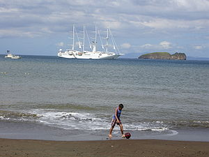 A beach in the Guanacaste Province.